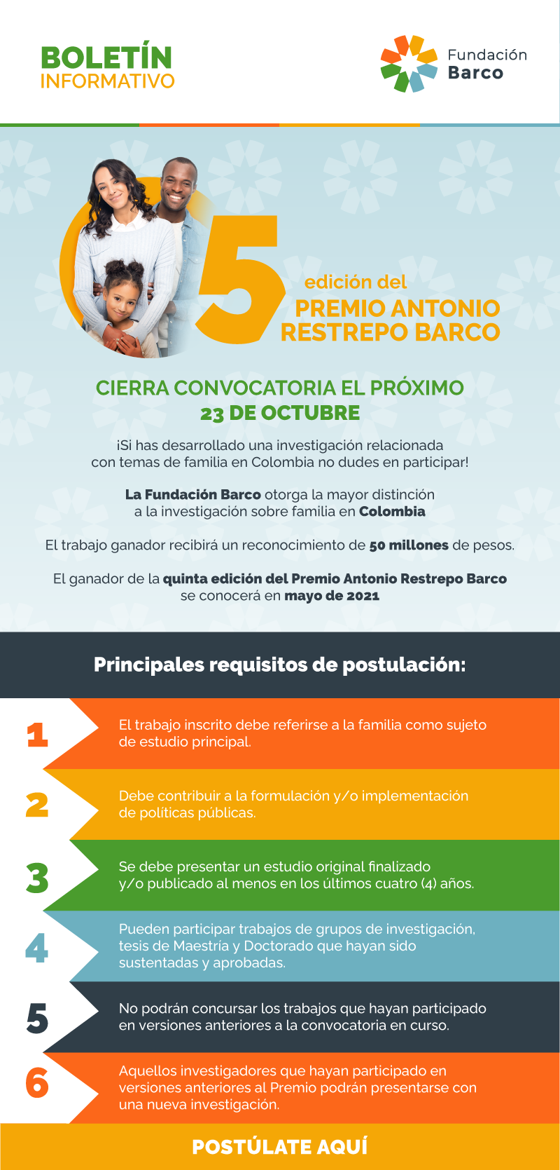 CIERRA CONVOCATORIA EL PRÓXIMO 23 DE OCTUBRE