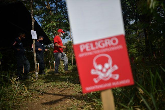 Lanzan plataforma para capacitar a profesores de Colombia en el riesgo de minas antipersonal
